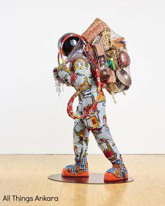 Art: Refugee Astronaut II 2016 by Yinka Shonibare