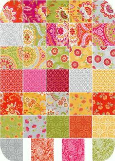 High Street Fat Quarter Bundle - Entire Collection - by Lily Ashbury for Moda Fabrics - 34 Fat Quarters