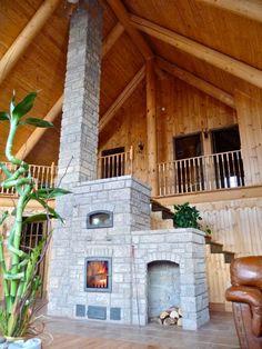 La source des foyers de masse préfabriqué au même endroit. Le plus écologique des systèmes de chauffage au bois.  Feu vert et Temp-Cast