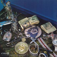 dope, money and diamonds image on We Heart It Rapper Jewelry, Lloyd Banks, Diamond Image, I Love Gold, Celebrity Jewelry, Fast Cars, Custom Jewelry, Presents, Gems