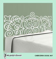 Cabeceira Casal 007 http://mejoganaparede.com.br/index.php/cabeceiras-cama-box