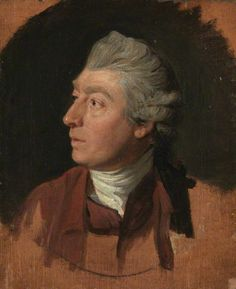 """♥ Thomas Gainsborough, c.1772, (1727–1788), by Johann Zoffany, English portrait and landscape painter. Gainsborough was noted for the speed with which he applied paint, and he worked more from observations of nature (and of human nature) than from application of formal academic rules. The poetic sensibility of his paintings caused Constable to say, """"On looking at them, we find tears in our eyes and know not what brings them."""""""