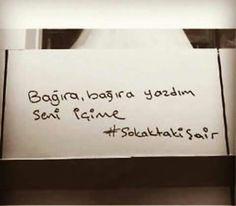 Bağıra bağıra yazdım seni içime... - Ahmet Kaya / Arka Mahalle