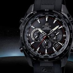 Too sexy Robust, sleek and efficient. The Edifice EQWM600C-1A!  #watches #edifice #classic #menswatch