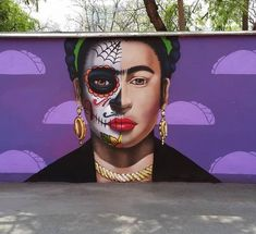 Street Art, Halloween Face Makeup, Fictional Characters, Urban Art