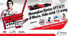 Dukung langsung Rio Haryanto yang berlaga pada GP2 Series sirkuit Monza. pertamina.com/gotoeurope/ #PertaminaChallenge