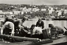 View Les Pecheurs de Mykonos, Greece, 1957 By Rene Burri; Access more artwork lots and estimated & realized auction prices on MutualArt. Old Time Photos, Gelatin Silver Print, Mykonos Greece, Artwork, Image, Greece, Work Of Art, Auguste Rodin Artwork, Artworks