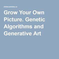 thesis using genetic algorithm