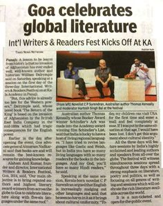 Times of India covers #wrfgoa