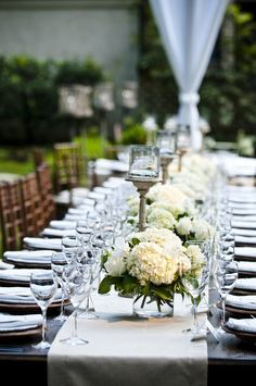 good short centerpieces for some of reception tables Photography By / http://modernlifeportraits.com,Floral Design By / http://gatheredstems.com