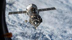 Soyuz approaching ISS (Credit: Nasa)