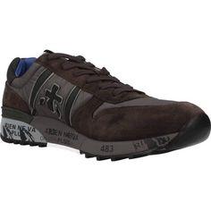 voordelige Premiata lander heren sneakers (Bruin)