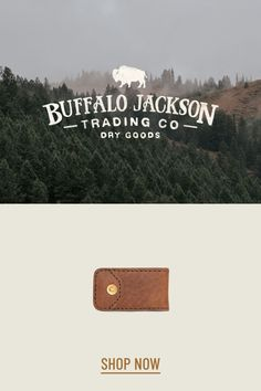Impressive collection of handcrafted and vintage inspired men's leather wallets and money clips. Bison leather, waxed canvas, and traditional full grain leather. Rugged. Refined. Built to last. billfold | trifold | bifold | passport | travel Casual Professional, Passport Travel, Money Clips, Leather Wallets, Waxed Canvas, Men's Leather, Bison, Gifts For Him, Men's Style