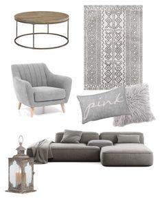 """Grey fashion casuall living room"" by sirine05 on Polyvore featuring interior, interiors, interior design, home, home decor, interior decorating, Casana and living room"
