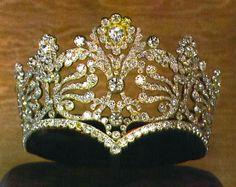 Empress Joséphine de Beauharnais' Coronation Tiara, France (1804; diamonds).