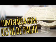 Vejam mais uma dica que a artista plástica Flavia Terzi fez para o Portal Casa Claudia. Neste vídeo ela nos ensina como transformar cestas de palhas em lindas luminárias.
