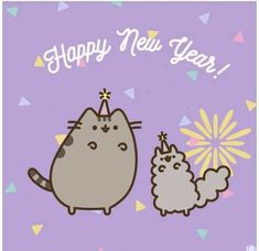 Pusheen // happy new year //