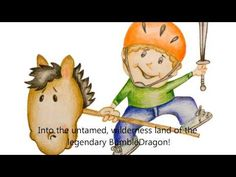 The BumbleDragon- a children's book your kids can sing along to from  www.SingAStory.com