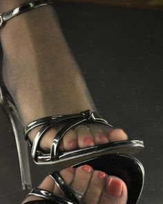Stockings Hose And Heels Hot Heels, Sexy High Heels, Beautiful High Heels, Open Toe High Heels, Gorgeous Feet, Strappy Heels, Stiletto Heels, Heeled Sandals, Pantyhose Heels