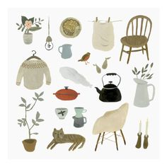 Gemma Koomen Shop - A Calm Morning at Home Print