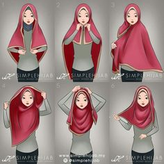 Square hijab tutorial Omg yeayyy found the tutorial. I've been trying many ways to wear square hijab zz Square Hijab Tutorial, Simple Hijab Tutorial, Hijab Style Tutorial, Islamic Fashion, Muslim Fashion, Hijab Fashion, Hijab Dress, Hijab Outfit, How To Wear Hijab