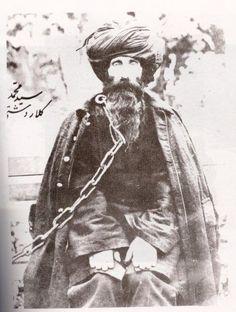 #Kurdish #Sufi Shaykhm Seyid Mohemed Kalardeştî, in chains before his execution in 1967. #Islam