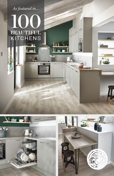 If you're in the middle of planning your new kitchen, take a look at our range of kitchens, as featured in #100BeautifulKitchens by Period Ideas.