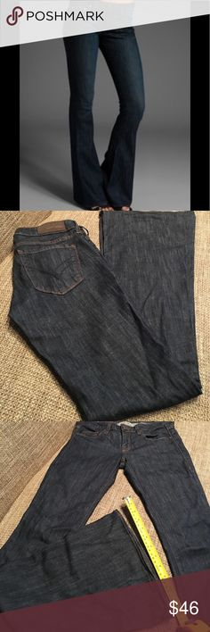 "William Rast Ryley flare denim William Rast Ryley flare denim. Inseam 36"". Rise 7.75"". Super soft denim William Rast Jeans Flare & Wide Leg"