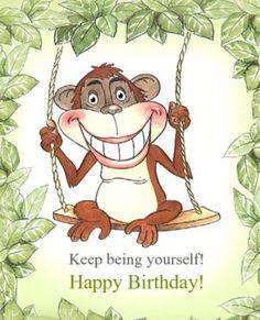 Happy Birthday Funny Card