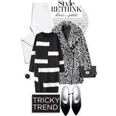Tricky Trend: Dress and Pants
