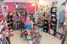 Id like to have my own children's clothing store someday.