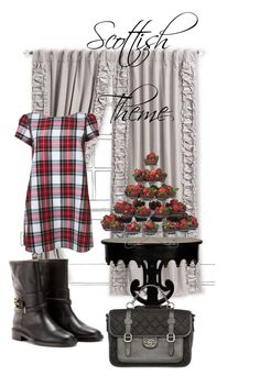 Scottish Theme by giubagnols on Polyvore featuring polyvore, fashion, style, Balenciaga, Parlor, Wilton, Chanel and clothing