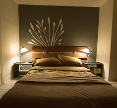 Small Basement Apartment Ideas - Bing Images love the bedside lights.. perfect for our basement bedroom next year =)