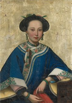 Portrait of a beauty Qing Dynasty, 18th 19th century