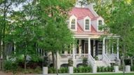 Looking for the best house plans? Check out the St. Phillips Place plan from Southern Living. Exterior Siding Options, Exterior House Colors, Exterior Paint, Exterior Design, Exterior Light Fixtures, Exterior Lighting, Red Roof House, Big Front Porches, Southern Living House Plans