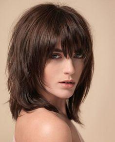 peinados modernos media melena para mujeres