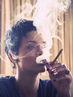 Rihanna gettin' to it like a BO$$
