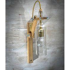 Que ideia sensa! #Upcycle com garrafa de vidro. Pinterest: br.pinterest.com/pinideias www.ideiasdiferentes.com.br |Imagem não autoral|