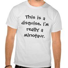 Minotaur costume. shirt