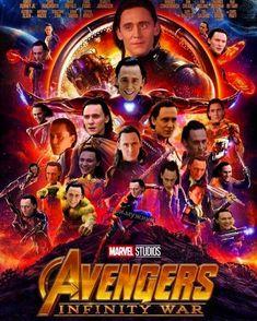 "thekingloki: ""well I hate when they forgot to put Loki in the poster now my nigge made this I'm proud of hiddlestoners"" (https://www.instagram.com/p/Bga7euWBkRu/ ) #Loki #avengersinfinitywar #tomhiddleston"
