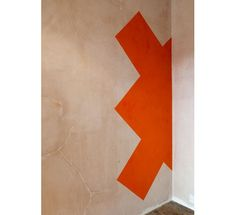 Ernst Caramelle Pigment on wall