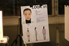took this photo backstage at Acne, most amazing show I´ve ever been to