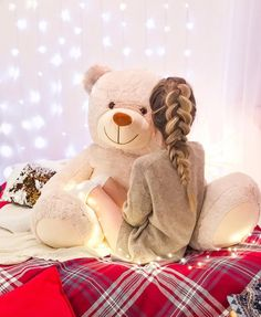 ИДЕИ ДЛЯ ЗИМНИХ ФОТО ❄️👇🏼 ⠀ I always wanted a photo with a big teddy bear! Let's cuddle 🐻 Do you have a teddy bear? Teddy Photos, Bear Photos, Girl Photos, Giant Teddy Bear, Cute Teddy Bears, Bear Tumblr, Tedy Bear, Cool Dpz, Giant Stuffed Animals