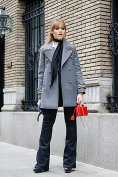 The 10 best looks from New York Fashion Week Fall 2016 http://theswagfashion.com/50-flawless-fallwinter-outfits/