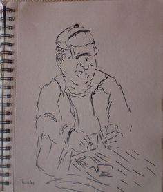 Arte Moderna e Contemporânea: O jogador de cartas (pai do artista)
