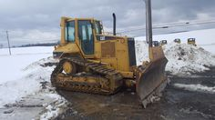 05 Caterpillar D5N XL Bull Dozer Crawler Tractor Diesel Engine NEW UNDERCARRIAGE