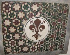 Mosaico con stemma di Firenze - Museo dell'Opera del Duomo di Firenze.