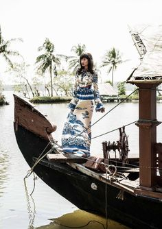 Varsha Thapa by Andrea Varani for Elle India  March 2017 - Gucci