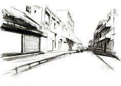 related image 3 pinterest perspektive stadt und zeichnen. Black Bedroom Furniture Sets. Home Design Ideas