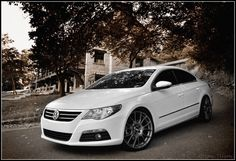 White VW CC Sport Plus! The price went up 5k since I bought mine 3 years ago. Great car with strong German ingenuity.